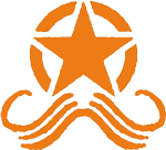 Moustache March Logo